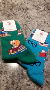 Socks by SocksMax, also bought at Supercon 2015