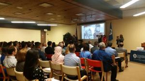 50 new Americans were sworn in as citizens today.